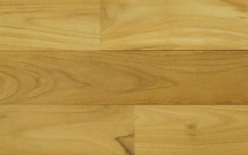 床暖房対応チーク無垢フローリング無塗装UNI90幅商品写真