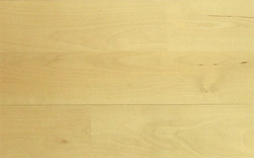 カバ桜無垢フローリング無塗装(面無し)UNI90幅商品写真