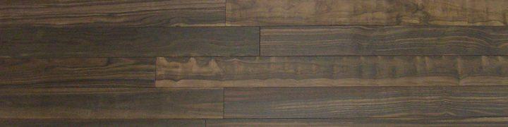 縞黒檀無垢フローリング 無塗装 OPC乱尺 90幅